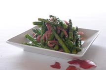 Asparagus Red Onion Salad