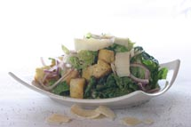 Caesar Salad with Lemon Parmesan Dressing