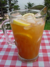 Spiced Maple Ice Tea