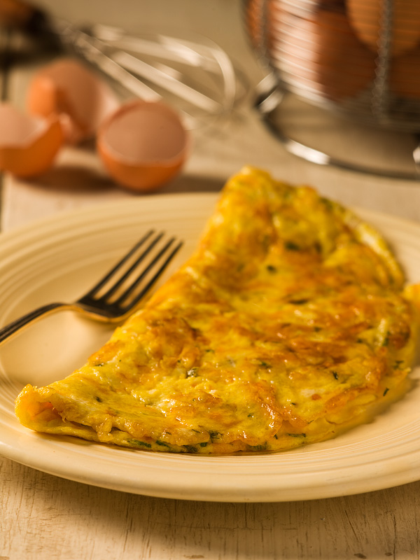Cheddar Cheese Omelette - Chef Michael Smith