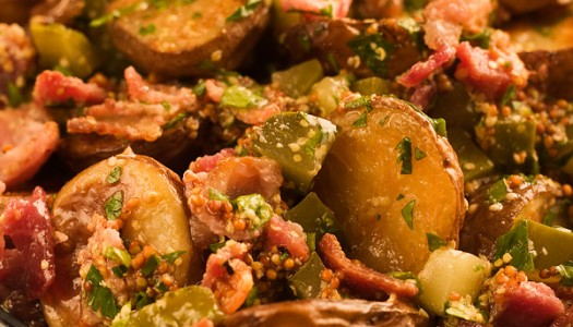 Roasted Potato Bacon Salad