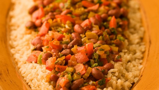 Southwestern Red Beans & Brown Rice