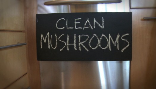 Clean Mushrooms