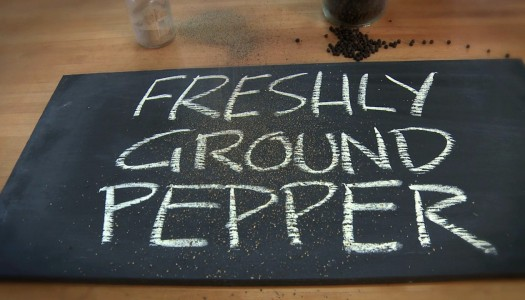 Freshly Ground Pepper