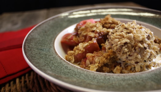 Apple Oatmeal Crisp