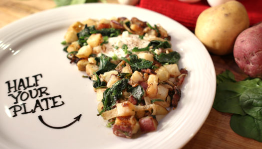 Half Your Plate with Chef Michael Smith: Red & Yellow Potato Hash
