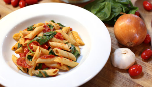 Half Your Plate with Chef Michael Smith: Your Favourite Pasta with Roast Tomato Sauce
