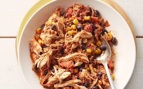 Tex-Mex Chipotle Chicken Filling