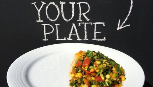 Kenyan Githeri Vegetarian Corn, Beans & Kale