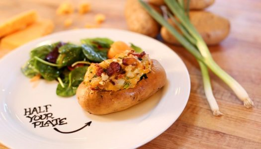 Half Your Plate: The Ultimate Stuffed Potato