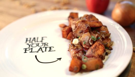 Half Your Plate: Cinnamon Roast Butternut Squash and Apples