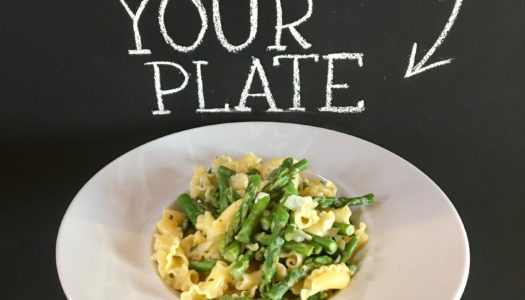 Asparagus Primavera with Lemon & Tarragon
