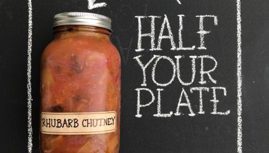 Rhubarb Chutney  for Grilling Season