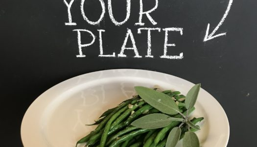 Green Beans with Brown Butter & Sage