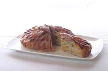 Potato Bacon Cheddar Tart
