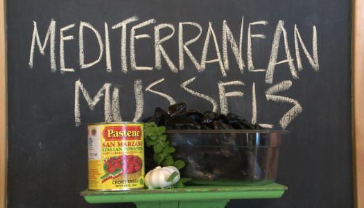 Mediterranean Mussel Pasta
