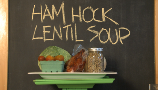 Ham hock soup