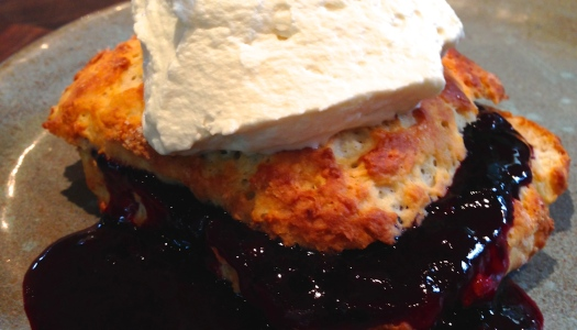 Summer Berry Shortcake with Sour Cream Biscuits