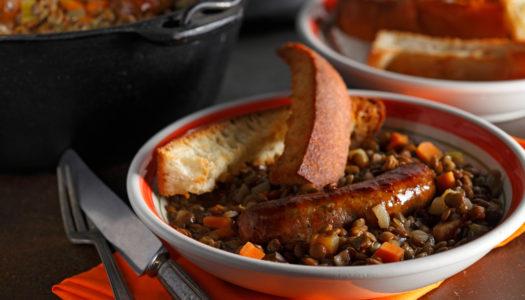 Umbrian Lentils & Sausage